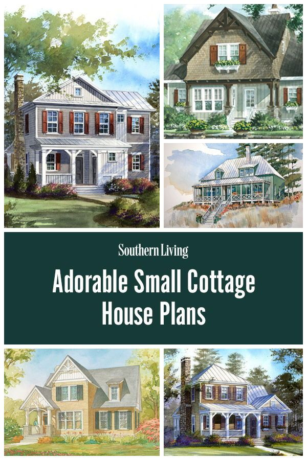 30 Small House Plans That Are Just The Right Size Small Cottage House Plans Southern Living House Plans House Plans