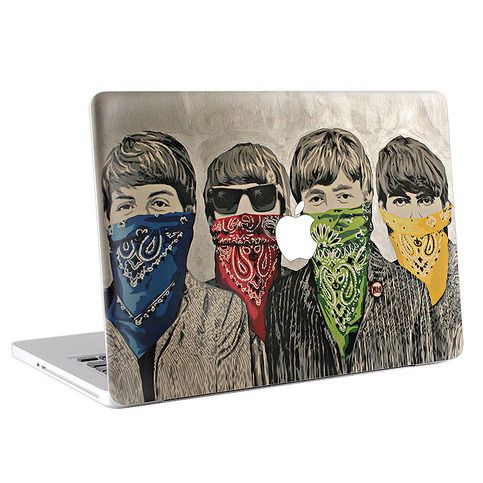 "$15 The Beatles Drawing – Macbook Skin / Decal / Cover  (KMB-137) ------------------------------------------------------------------ To Order, for Peferc fit,   You have to leave following message to seller when you check out  1.	Your MacBook Size  ( 11"" , 13"" ,15"" or 17"") 2.	Your  Macbook Model..."