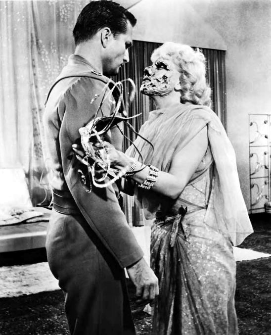 laurie mitchell and eric fleming in quotqueen of outer space