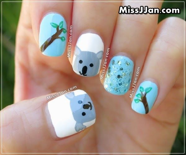 No Solo DIY: 10 tutoriales de pintar uñas con animalitos