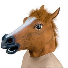 Horse Head Mask Animal Costume n Toys Party Halloween(China (Mainland))