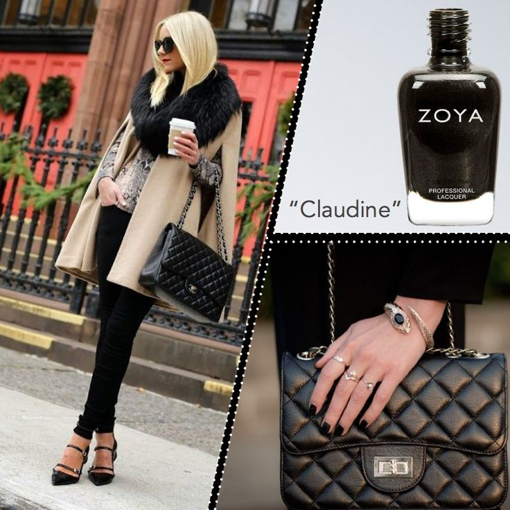 Zoya Claudine #zoyaoje #tırnak #nail  #fashion #nailcolors #nailart #moda #shoes #bags #dress #zoyaturkiye #jewerly #kadın #style #jacket #skirt #herveleger #küpe #ayakkabı #elbise