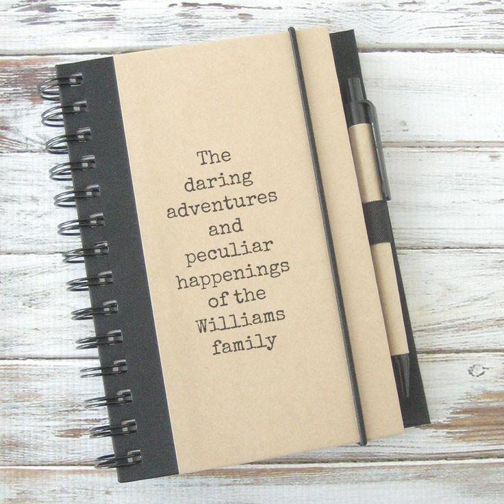 Daring Adventures Personalized Journal