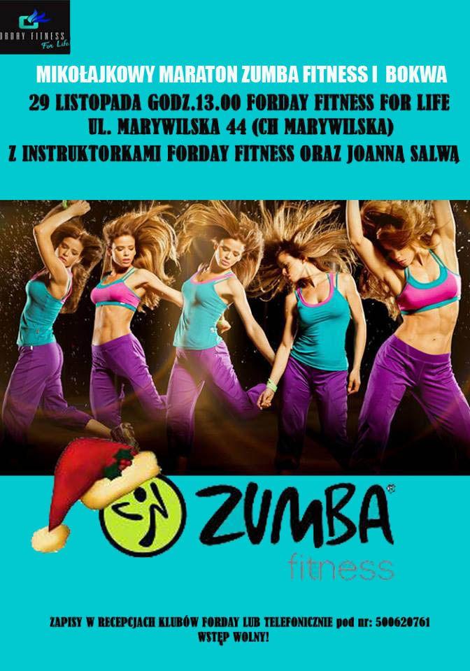Mikołajkowy maraton Bokwa i Zumba Fitness (Warszawa, 29.11.2014)