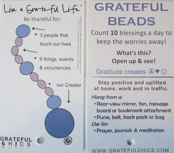 Prayer Beads Gratitude Under 20 Yellow Stone Star by GratefulChics