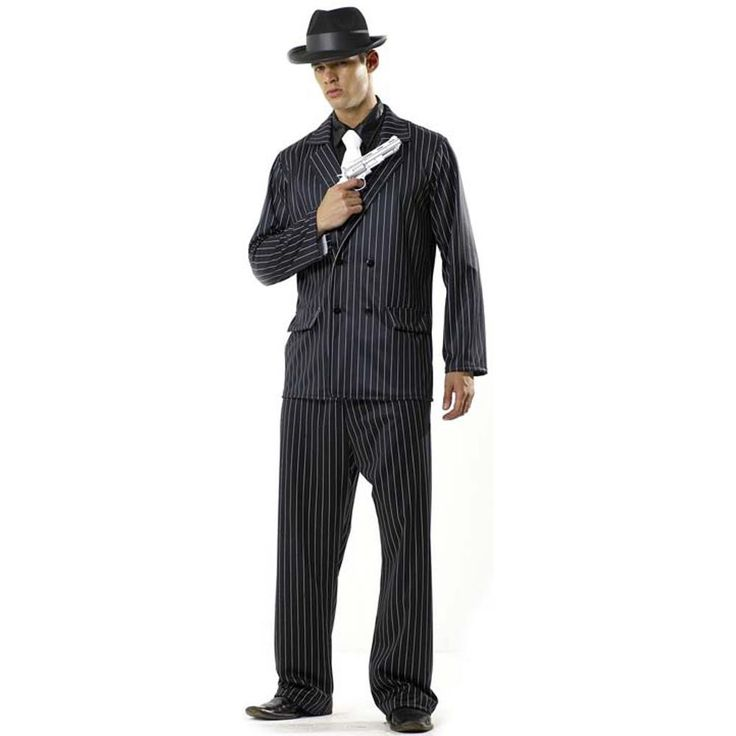 Adult Mafia Costume