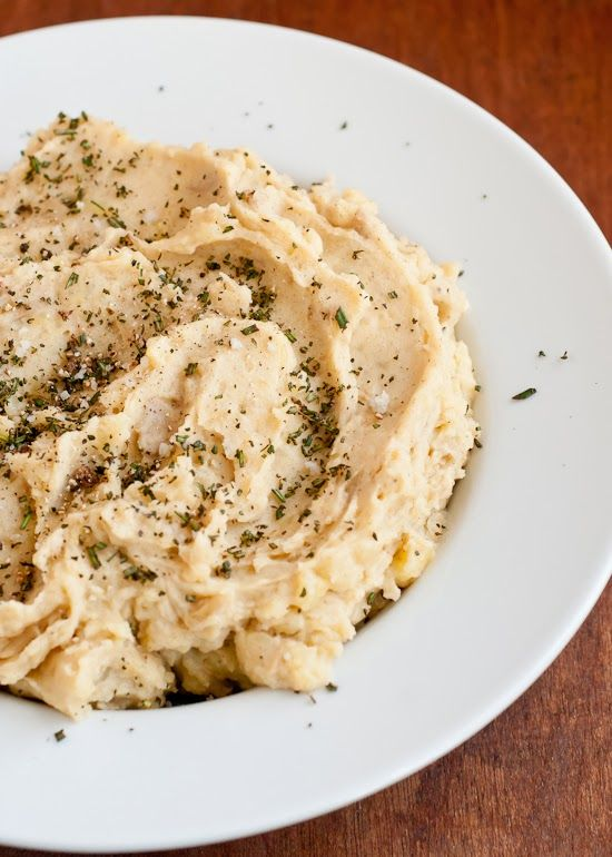 Cafe Johnsonia: Brown Butter Mashed Potatoes with Rosemary