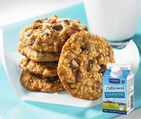 Fermes Burnbrae  - #CookieEggchange de recette de biscuits ! - Voilà une collation savoureuse qui conviendra tant aux boîtes à lunch qu'aux fringales de mi-journée et de fin de soirée !