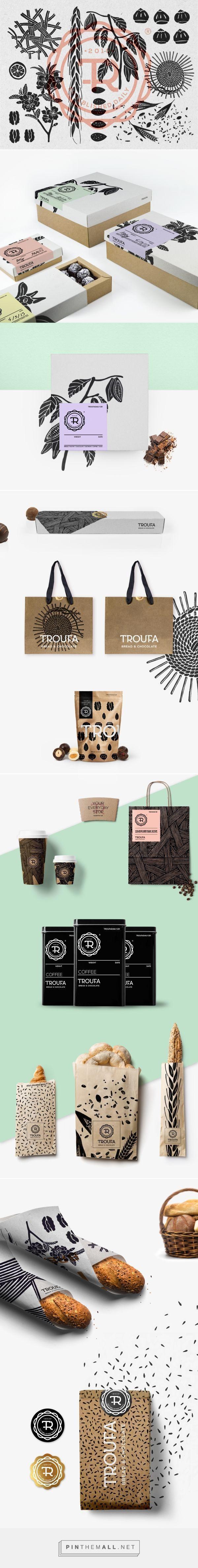 Troufa Branding on Behance | Fivestar Branding – Design and Branding Agency & Inspiration Gallery::