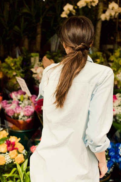 Twisted Ponytail | 23 Five-Minute Hairstyles For Busy Mornings