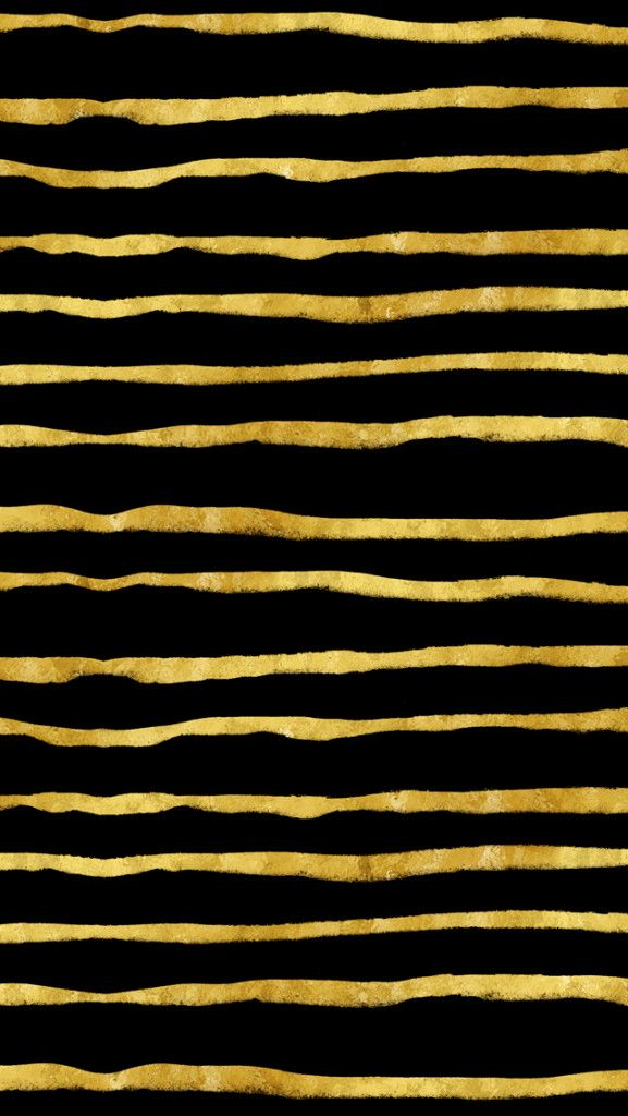 gold and black torn stripes faux foil metallic background