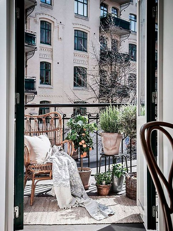 Balcones urbanos para inspirarse