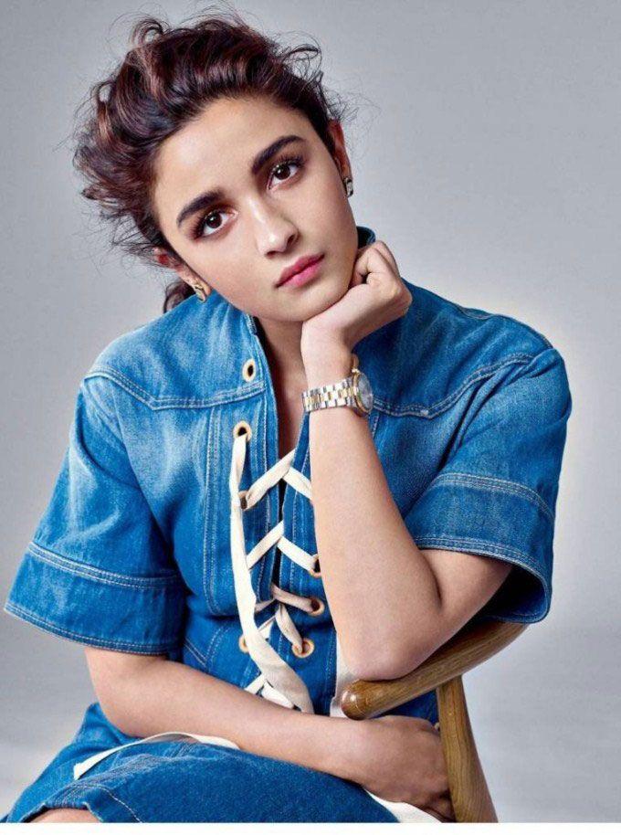 Alia Bhatt Harper's Bazaar magazine July 2015