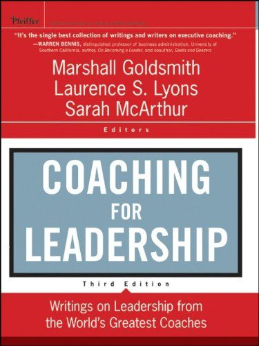 13 best reading list executive coaching images on pinterest book coaching for leadership writings on leadership from the worlds greatest coaches by marshall goldsmith fandeluxe Images