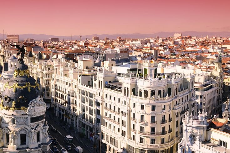 Madrid overflows with palaces, cathedrals, and remnants of awe-inspiring ages!