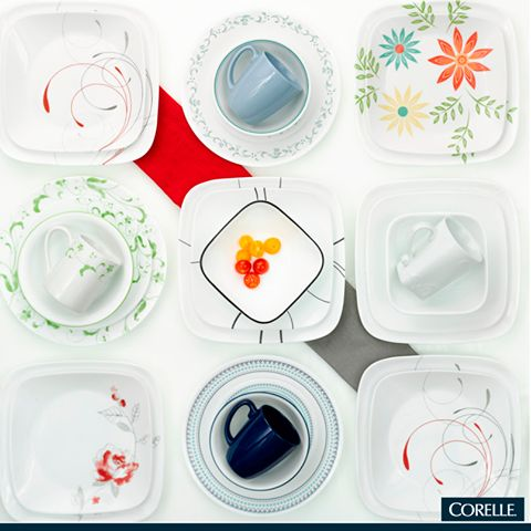 Disfruta de la versatilidad de CORELLE. #Corelle #WorldKitchen #WKMéxico # Dishes #  sc 1 st  Pinterest & 16 best Corelle images on Pinterest | Dish sets Dishes and Corelle ...
