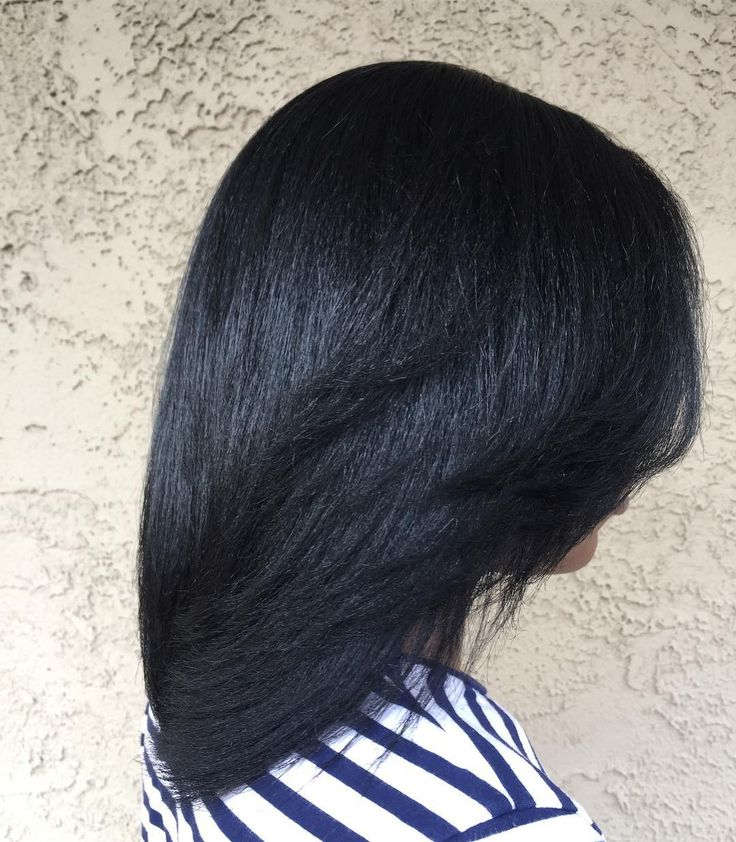 """112 Likes, 1 Comments - Brenda Gee Official (@brendageehair) on Instagram: """"She said this is the longest and healthiest her hair has ever been. Yes it's relaxed hair. That's…"""""""