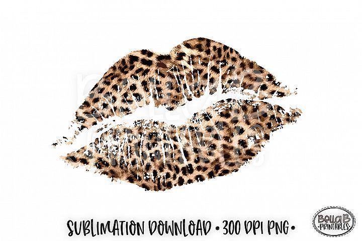 Valentine S Sublimation Leopard Print Lips Sublimation 386476 Sublimation Design Bundles Leopard Print Tattoos Cricut Projects Vinyl Leopard Print