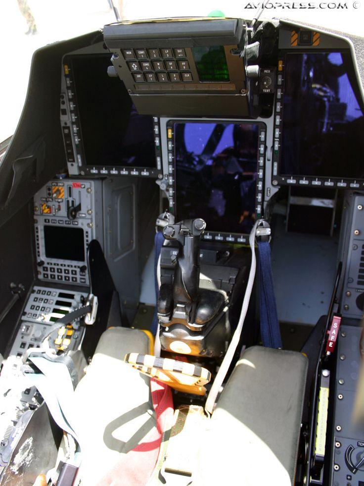 Saab JAS-39C Gripen Cockpit