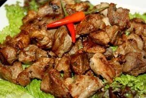 Simple Garlic Pork Recipe