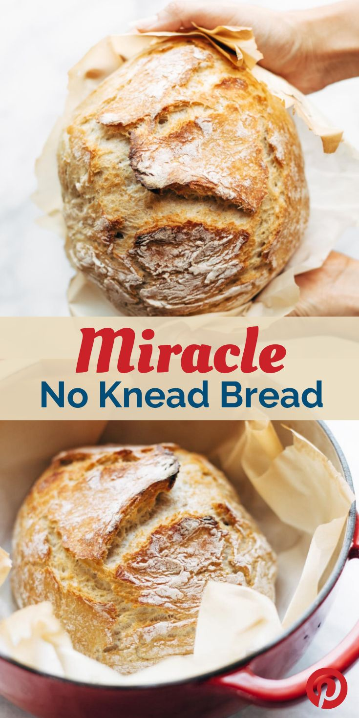 Miracle No Knead Bread #healtyrecipes #dessert # ...