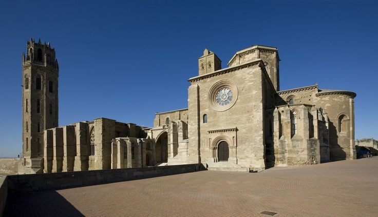 15 meters to Spain: Catedral de la Seu Vella de Lérida