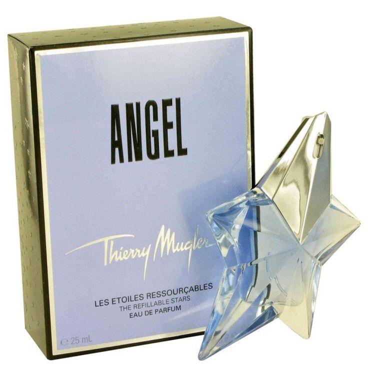 Angel By Thierry Mugler Eau De Parfum Spray Refillable .8 Oz