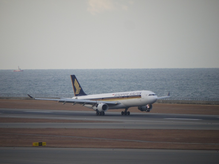 Singapore Airlines at  Chubu International Airport