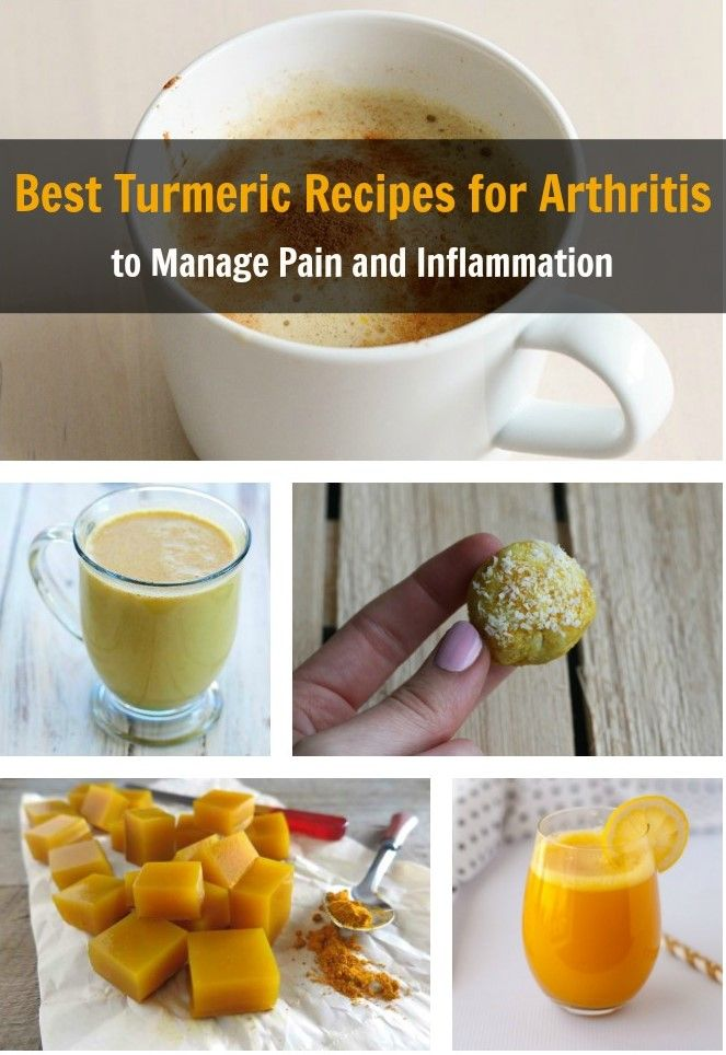 Turmeric offers powerful anti-inflammatory effects. These turmeric recipes for arthritis are food medicines to help manage arthritis. These are easy to make and the ingredients can be found in the kitchen. http://ieatsoiam.com/turmeric-recipes-for-arthritis/