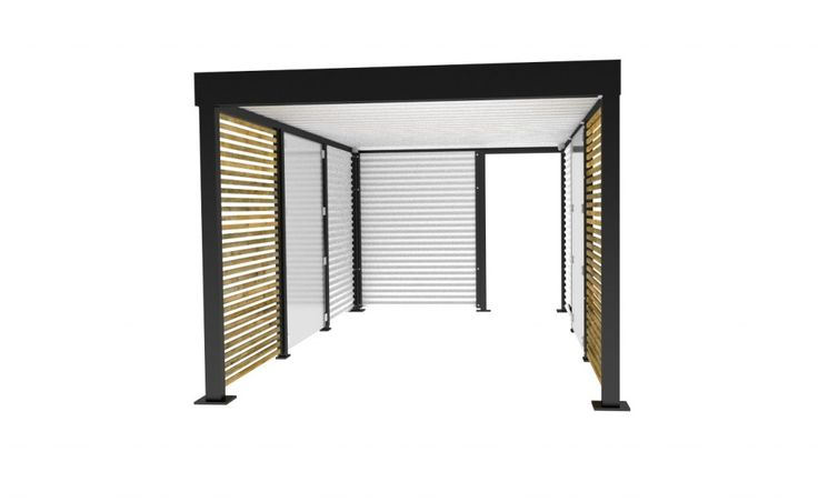 die besten 25 carport metall ideen auf pinterest carport aus metall pergola metall und. Black Bedroom Furniture Sets. Home Design Ideas