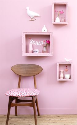 #DIY Showcase for on the wall - #101woonideeen.nl - Dutch interior and crafts magazine