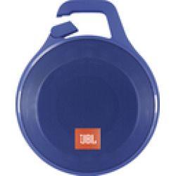 Jbl - Clip+ Portable Bluetooth Speaker - Blue