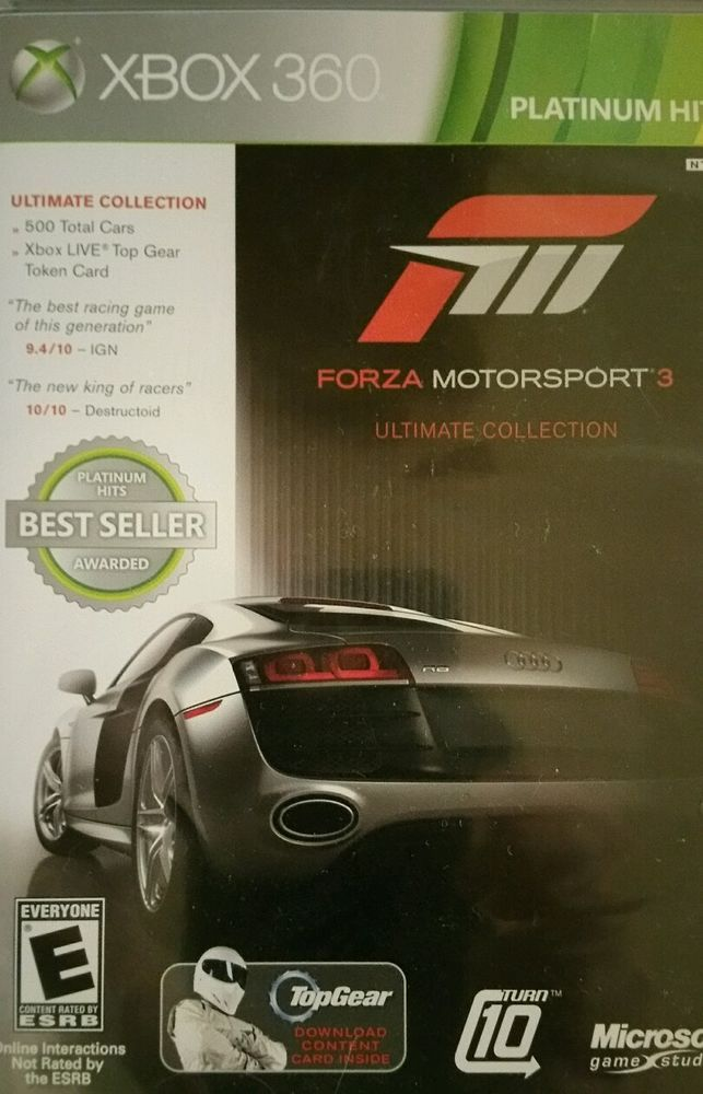 Forza Motorsport 3 -- Ultimate Collection (Microsoft Xbox 360, 2010) -...