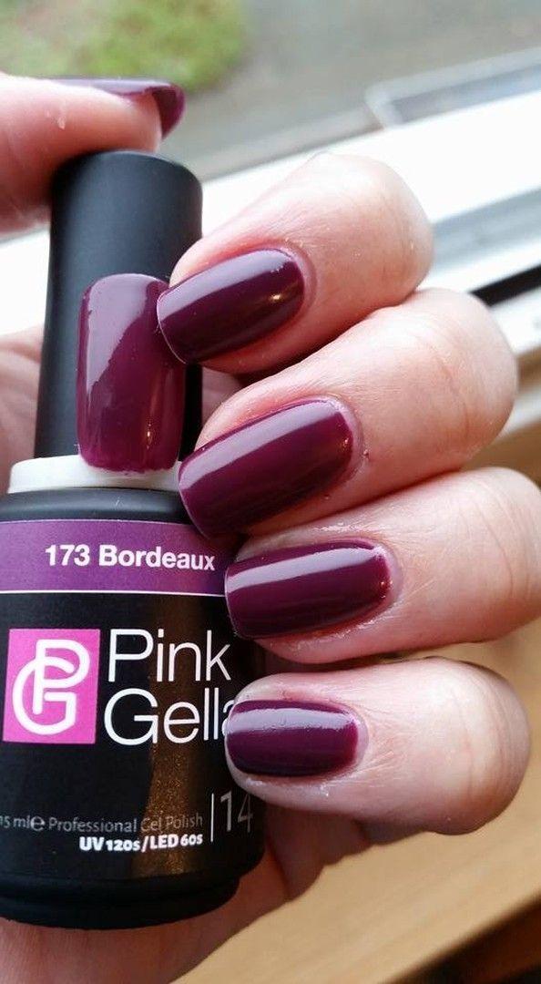 shared Kelly Hijstek's photo. Mijn eigen nagels gedaan vandaag!! Mijn favoriete kleur  ?? #173bordeaux