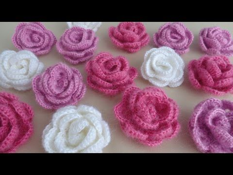 Easy Way To Crochet Beautiful Rose - Tutorial - Page 2 of 2 - ilove-crochet