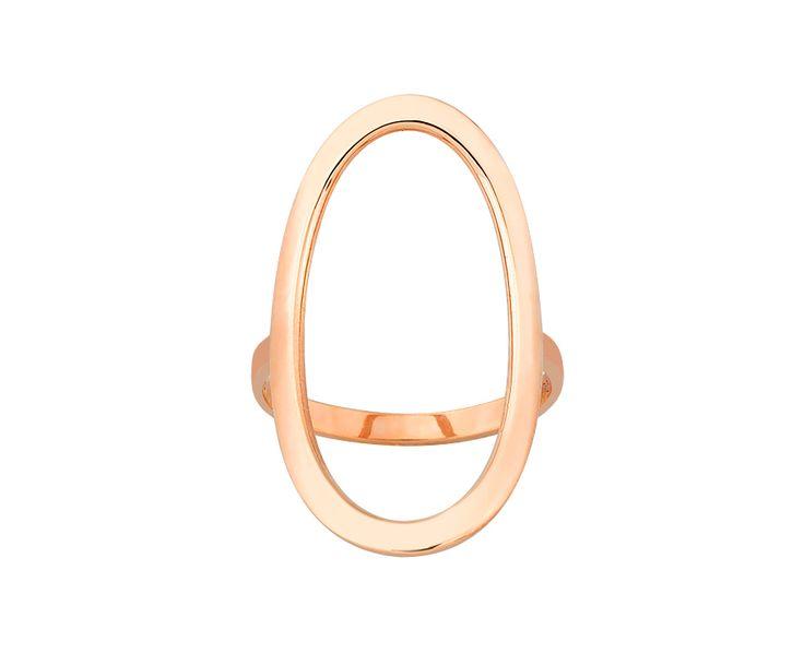 rose gold ring in 14K