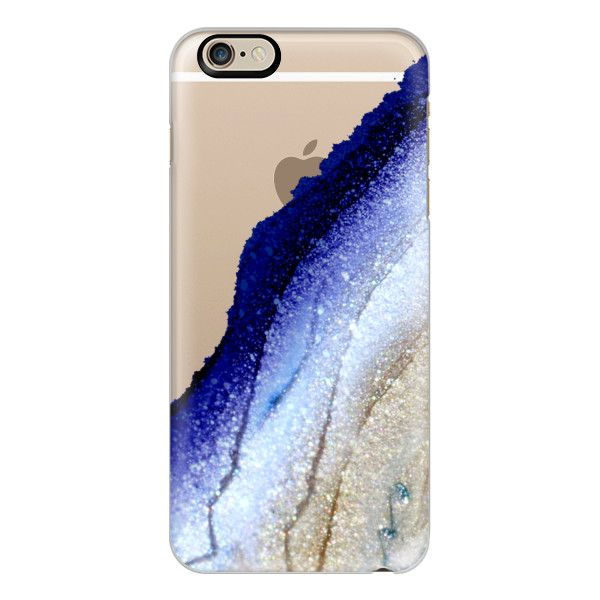 iPhone 6 Plus/6/5/5s/5c Case - FLAWLESS ROYAL BLUE & FAUX GOLD by... ($40) ❤ liked on Polyvore featuring accessories, tech accessories, phone case, capas de iphone, electronics, tech, iphone case, iphone 6 case, iphone cases and gold iphone 5 case