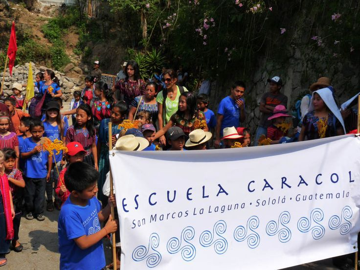 On the morning of April 24, all schools in San Marcos La Laguna participated in the parade which takes place during the Feria in our town. Our local fairis a joyous time that almost says goodbyet…