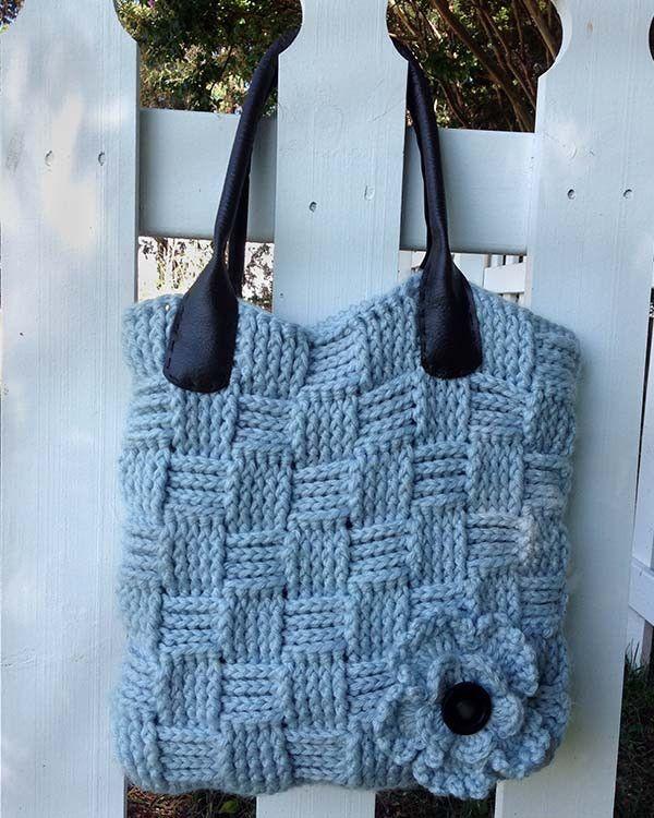 Basket Weave Bag Crochet PatternTere Restegui