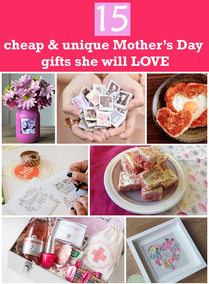 Best 25  Unique mothers day gifts ideas on Pinterest  Cheap mothers day gifts, Mothers day