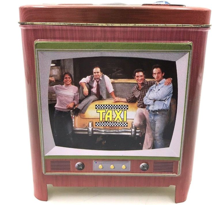 Taxi TV Show,Small Tin Box  (Paramount Pictures,Dated 1999)SALE BY WEARETHEDEALS