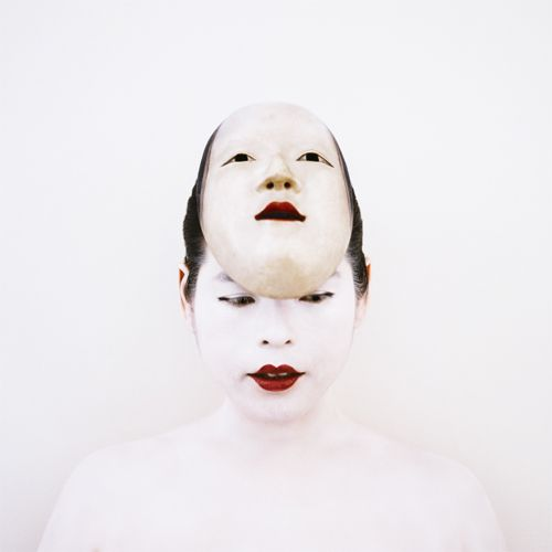 06 The Bride with a Nô Mask, Self-portrait, 2005