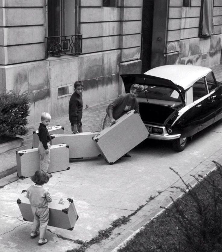 Week end du 15 aout à Paris dans les années 60