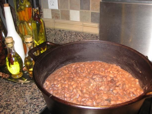 Frijoles (Mexican Style Pinto Beans) - Made these tonight and they were delish!