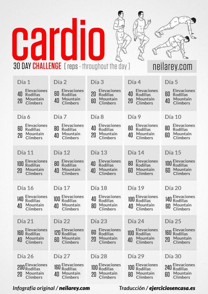 Una rutina de #ejercicios cardio perfecta para bajar de #peso rápido en casa