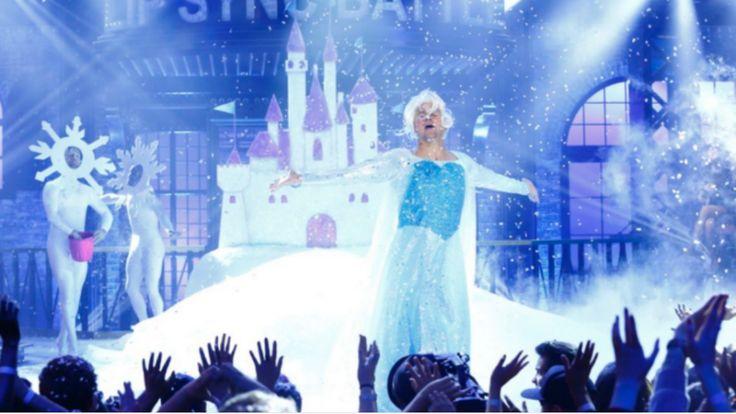 Channing Tatum sacó la reina Elsa que lleva dentro