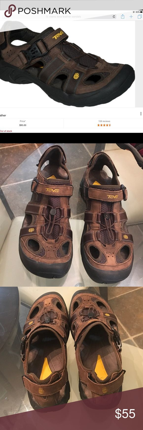 Men's teva sandles sz 13 Men's teva sandles in excellent used condition sz13 teva Shoes Sandals & Flip-Flops