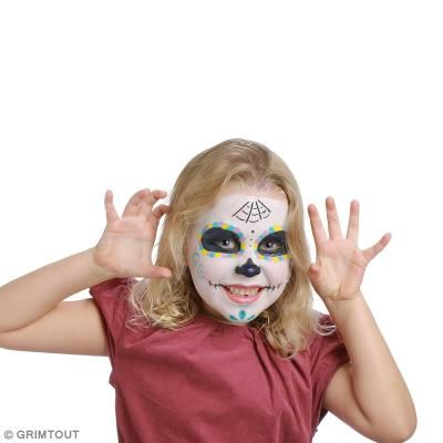 17 best ideas about maquillage halloween enfant on pinterest maquillage halloween pour enfant - Tuto maquillage halloween ...