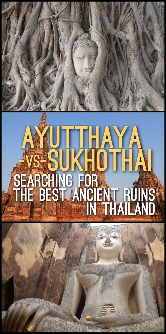 Should you visit Ayutthaya or Sukhothai? Where are the best ancient ruins in Thailand? What's the best archaeological site to visit in Thailand? to answer your travel queries, check out this post about Ayutthaya versus Sukhothai.