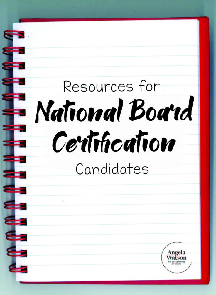 25 best National Board Certification images on Pinterest | National ...